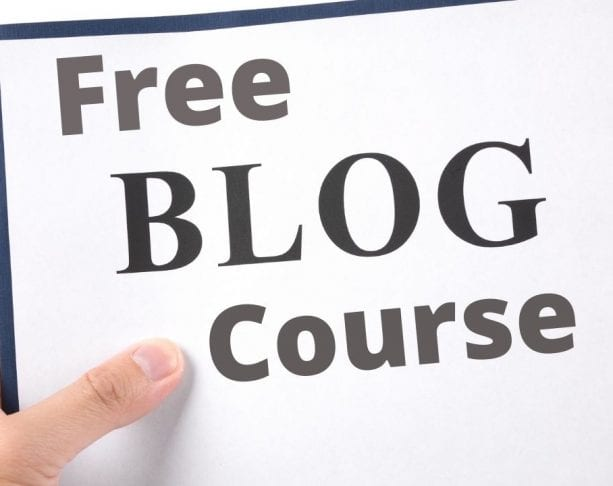 Free Professional Blogging Course